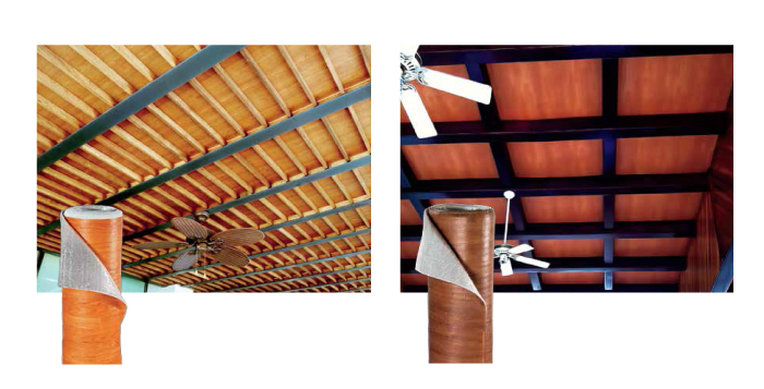 Prodex aislamiento t rmico reflectivo para techos procoen - Aislante de calor para techos ...