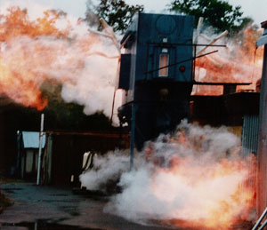 colectores de polvo explosión